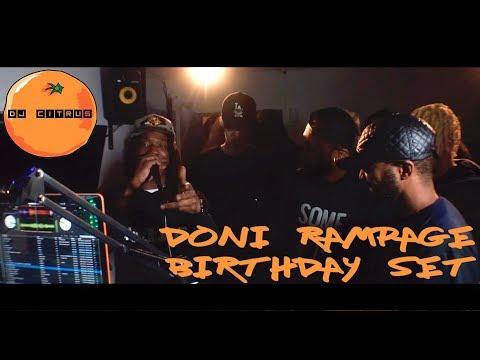 Doni Rampage Birthday Set - 16/03/18 - Jon E Clayface, Ten Dixon, Jamakabi, Popzzy, Aaze & more
