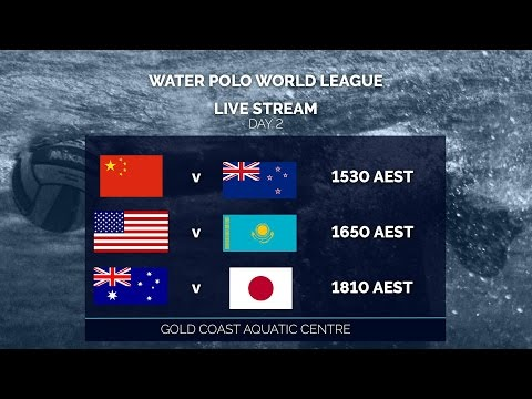 Water Polo World League: Day 2