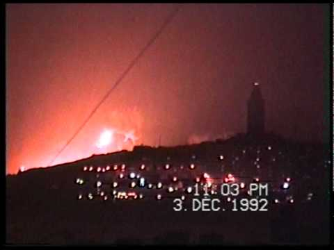 Accidente Mar Egeo / Aegean Sea, Coruña 3-12-1992