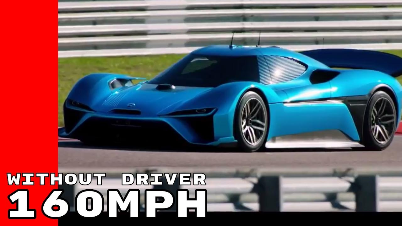 Nio Ep9 160mph Autonomous Car World Record Without Driver