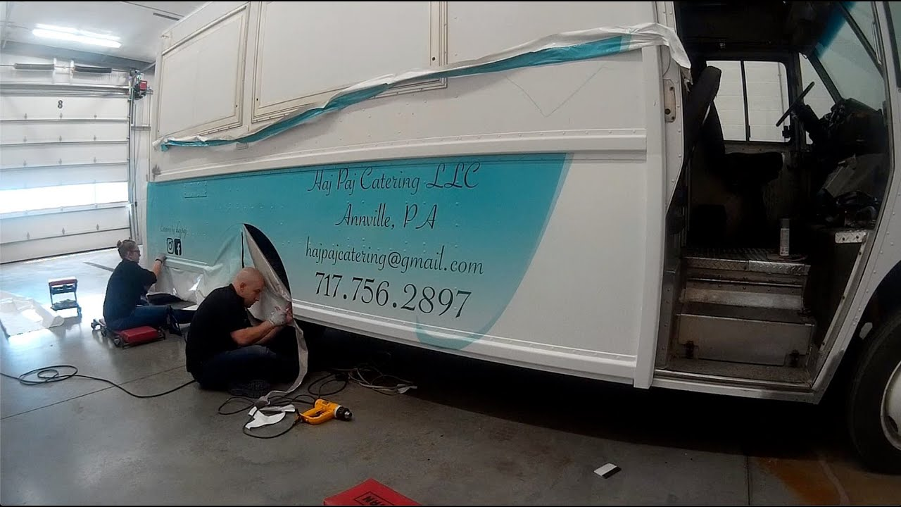Hajpaj Food Truck Wrap  | 911RR