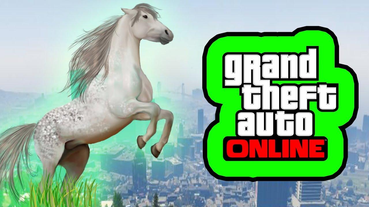 Jugar GTA 5 en PS4 o Xbox ONE Caballos en GTA 5  PyR GTA 5