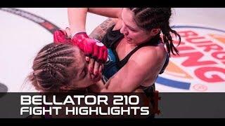 Bellator 210 Fight Highlights: John Salter, Kristina Williams Score Big Wins