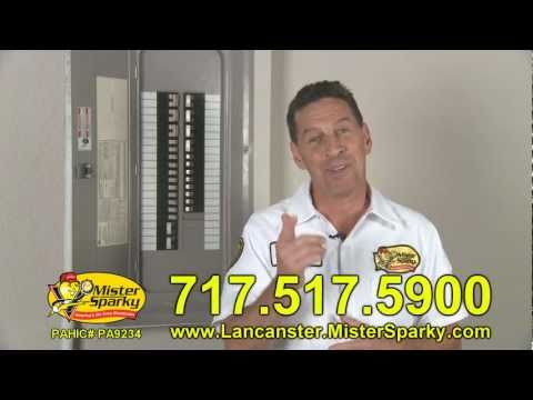Mister Sparky -  Electrical Problems: The 5 Most Common - Lancaster Pennsylvania - Electrician