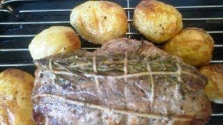 Мясо в духоке.Итальянская кухня.