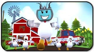 Becoming A Giant Titan Chicken - Roblox Chicken Simulator