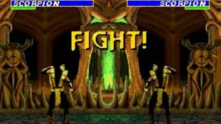 Ultimate Mortal Kombat 3 (Genesis) - Longplay as Scorpion