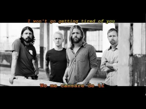Foo Fighters - Tired Of You (Subtitulos Español)