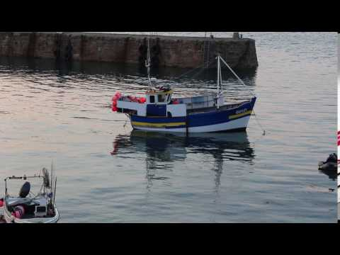 Fishing Boat in Harbour, Braye, Alderney