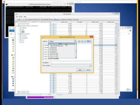 PRMS Graphical User Interface