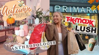 COME SHOPPING WITH ME FOR AUTUMN! HOME, FASHION + BEAUTY