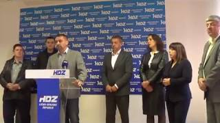 Smjena u HDZ-u Gospića/snimio Marko Čuljat/Lika press