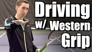 Creating Drive with a Western Grip