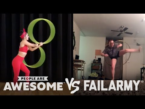 Hula Hoops, Fitness & More | People Are Awesome Vs. FailArmy