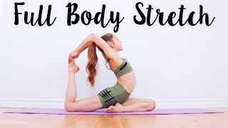 Stretching Routine To Get Flexible Fast!