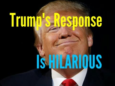 Thumbnail: DONALD TRUMP'S RESPONSE ABOUT WIRETAPPING...HILARIOUS!!!