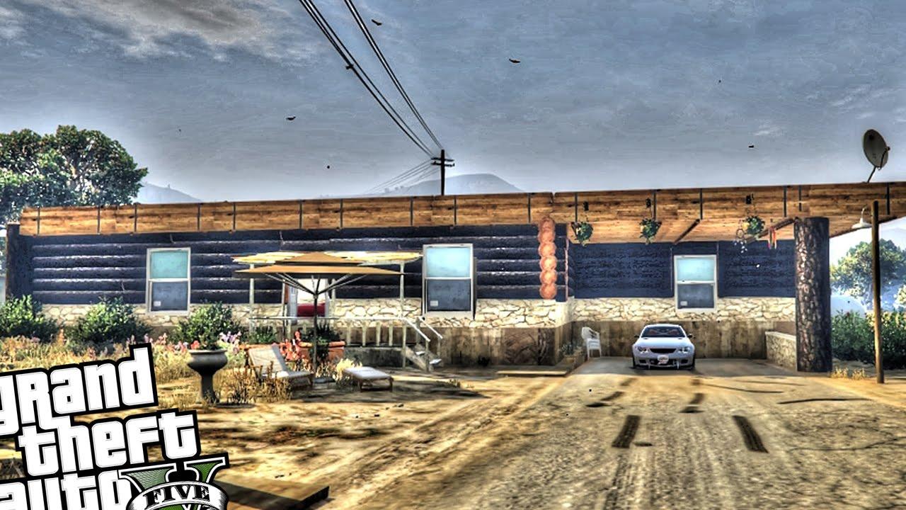 New Custom House For Trevor - GTA 5 PC (Country Life)