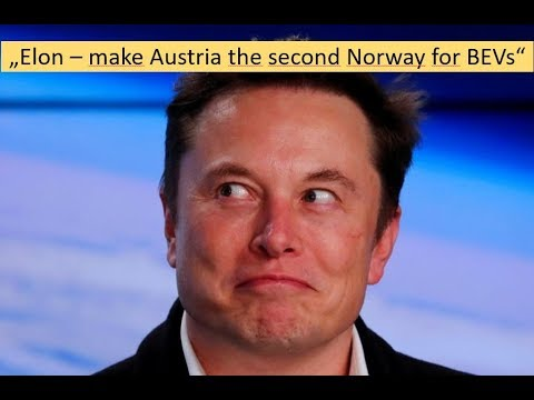 """Message to Elon Musk: """"Make Austria the second Norway for BEVs"""""""
