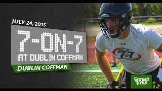 HS Football: Dublin Coffman Hosts 7-on-7 [7/24/15]