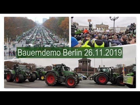 Bauerndemo in Berlin