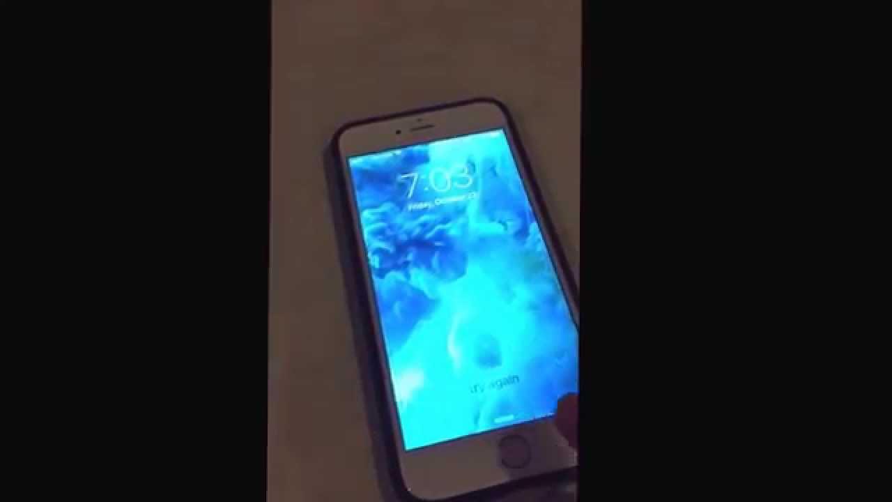 iphone 7 Plus fingerprint hacken