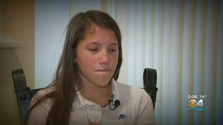 CBS4 Exclusive: Teen Seen On Cellphone Video Being Attacked At School Shares Her Story