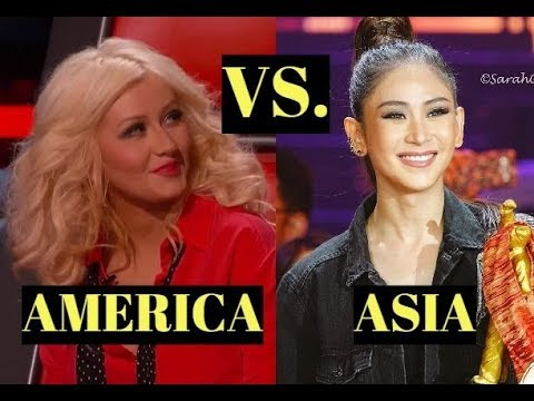 ASIA vs. AMERICA - Battle of the BEST SINGERS l G5 - A7