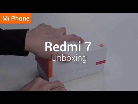 Redmi 7: Unboxing