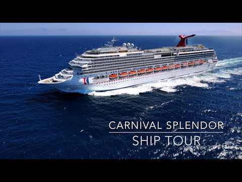 Carnival Splendor | Ship Tour | Travel VLOG | July 2017