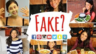 AM I FAKE ON SOCIAL MEDIA?