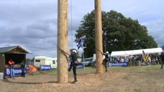 Pole Climbing Competition Woodfest 2011 thumbnail