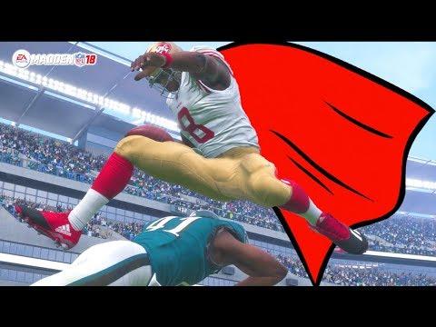 Madden 18 Career Mode - Lamar Jackson Has A Superman Type Performance Against Colin Kaepernick