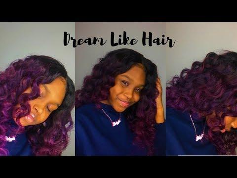 MY PURPLE HAIR FANTASY! | ft. Dream Like Hair & Adore Hair Color