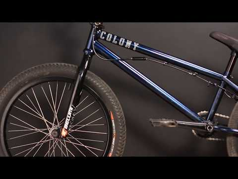 Paulo over in Brazil gives you a run down of his Sweet Tooth build. You can view more information of the products here: http://colonybmx.com.au/products/ ...
