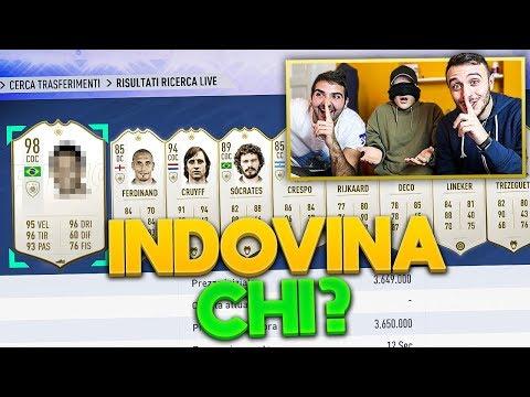 🤔 INDOVINA il CALCIATORE CHALLENGE con le ICON!!! Enry Lazza vs Fius Gamer vs T4tino23   FUT 19 ITA