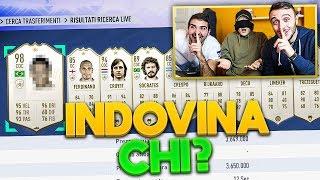 🤔 INDOVINA il CALCIATORE CHALLENGE con le ICON!!! Enry Lazza vs Fius Gamer vs T4tino23 | FUT 19 ITA