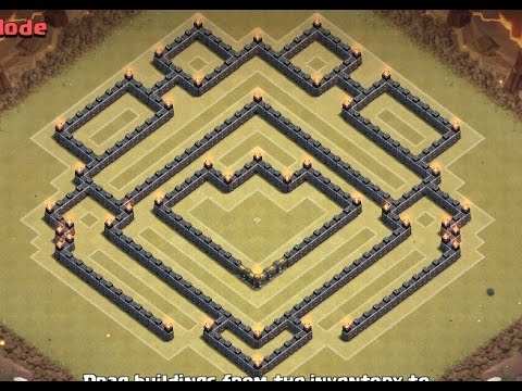 Anti gowipe giant gowiwi clan wars base speed build with replays
