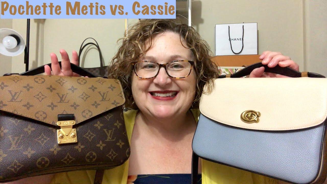Coach Cassie VS LV Pochette Metis