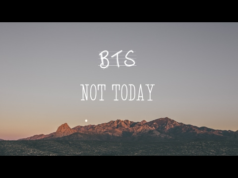 [Acoustic Cover] BTS - Not Today (Piano Ver.)