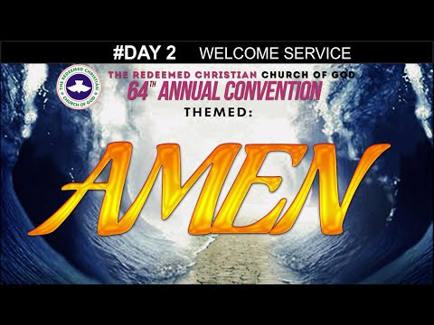 Special Hymn @ RCCG 64th ANNUAL CONVENTION #Day 2_ Welcome Service