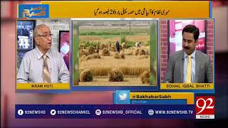Ikram Hoti pinpoints reasons behind destruction of agriculture  | Bakhabar Subh | 92NewsHD