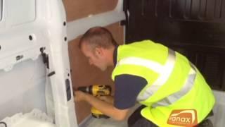 How to ply line a van - Vanax Ltd