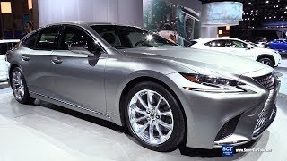 2018 Lexus LS 500h - Exterior and Interior Walkaround - 2018 Detroit Auto Show
