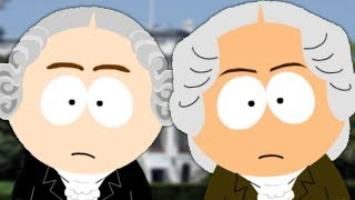 George Washington vs John Adams. Presidents Special. Epic Fanmade Rap Battles of History #44