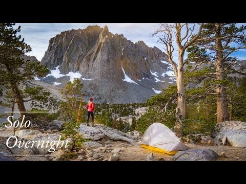 Solo Overnight Backpack to Big Pine Lakes in 4K - Fall 2019 | Eastern Sierra | John Muir Wilderness