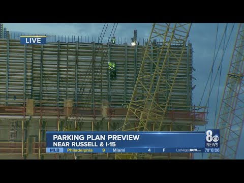 New Raiders stadium parking preview