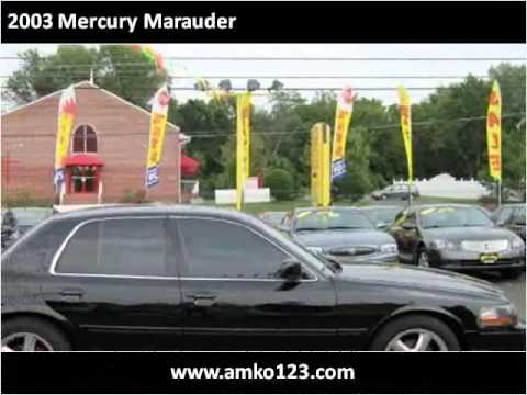 2003 Mercury Marauder Used Cars District Heights MD - YouTube