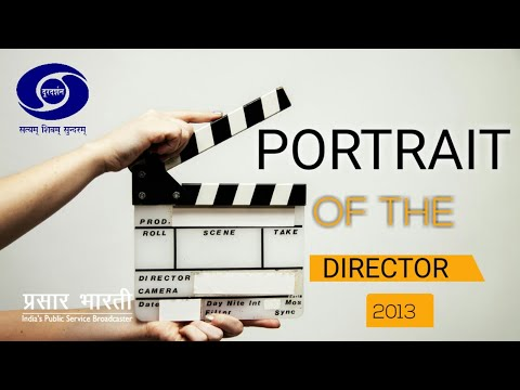 PORTRAIT OF THE DIRECTOR - Mrinal Sen