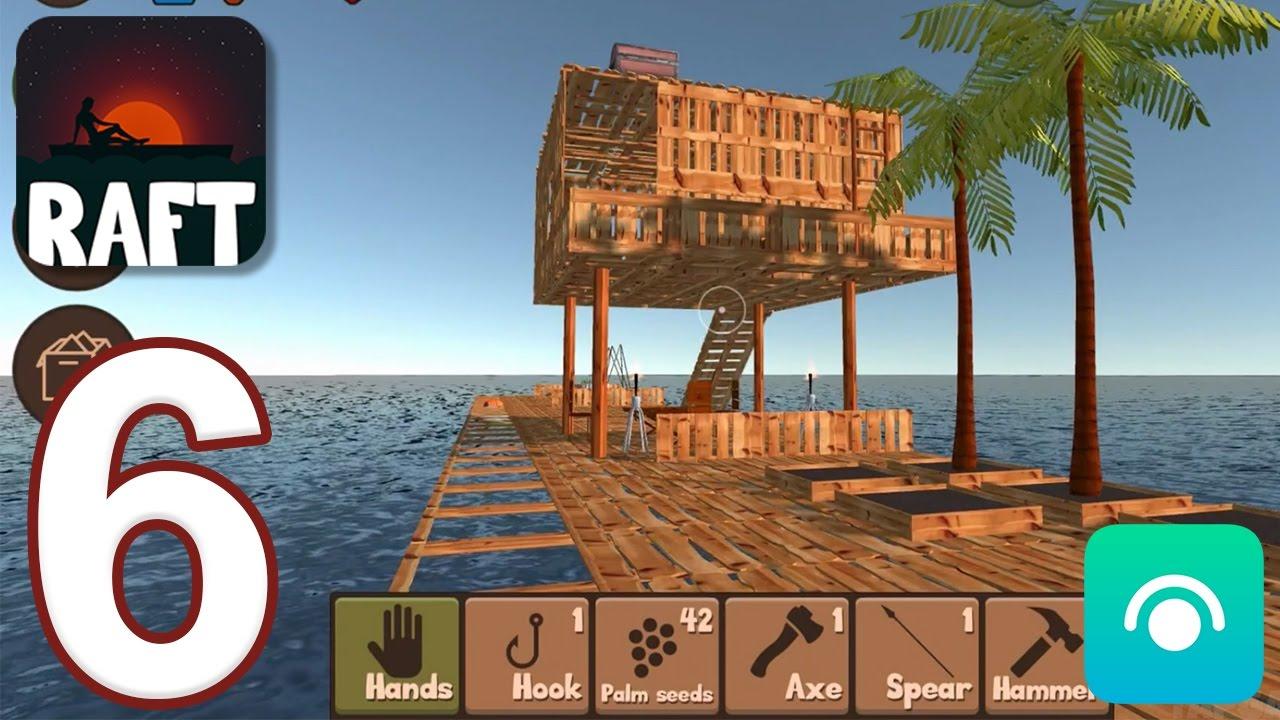 Raft Survival Simulator Gameplay Walkthrough Part 6 Ios Android Youtube