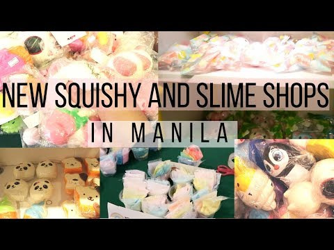NEW SQUISHY AND SLIME SHOPS IN MANILA || SQUISHY VLOG (YIIPPEE, HAPPY BOX)